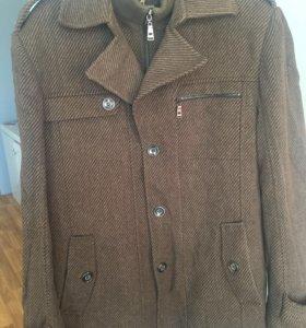 Мужское пальто размер 54
