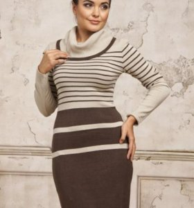 Вязаное платье VAY (новое)