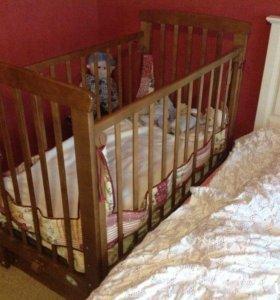 Кроватка детская Можга (Красная звезда)
