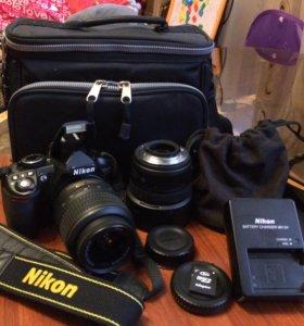 Зеркальный фотоаппарат Nikon D3100