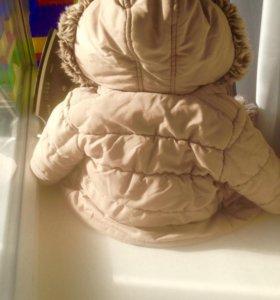 Демисезонная куртка на ребёнка р- р 74