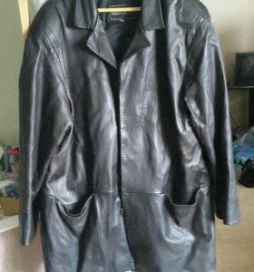 Куртка кожаная мужская, р.48-50
