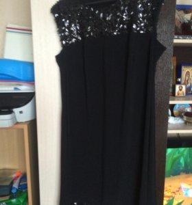 Платье вечернее с пайетками 52 размер