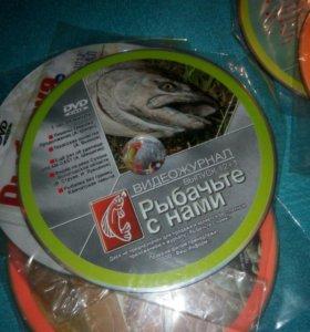 DVD о рыбалке из журналов