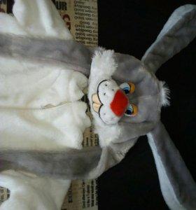 Костюм зайца на мальчика 5-7 лет