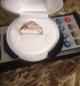 Кольцо золото ,можно обмен