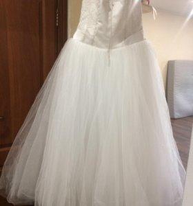 Свадебное платье б/у хорошее состояние