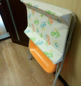 Пеленальный столик с ванночкой Prenatal