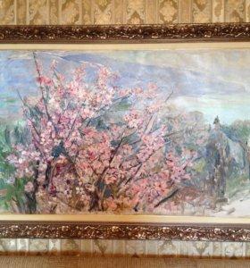 Цветкова В. П. картина Цветет миндаль