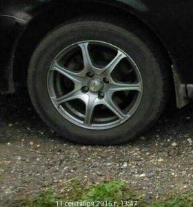 Продам колеса на литье нокиан, диски XTRIKE.