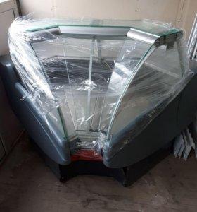 Внутренний угол холодильной витрины