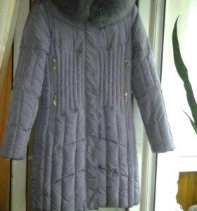 Пальто зимнее холофайбер