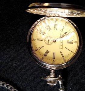 Часы мужские карманные с цепочкой