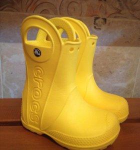 Резиновые сапожки Crocs 24 р