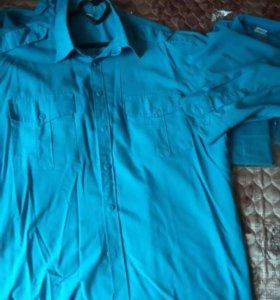 5 синих рубашек