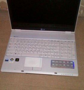 Ноутбук LG E-50 на запчасти.
