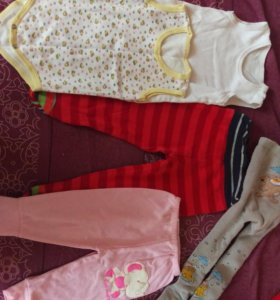 Вещи на ребенка 6-12 месяцев
