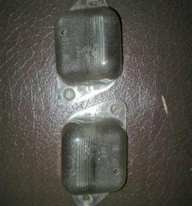 Фонари подсветки номерного знака на MAZDA 626 GF