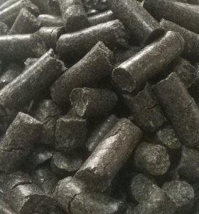 Топливные гранулы (Пеллеты) из лузги подсолнечника