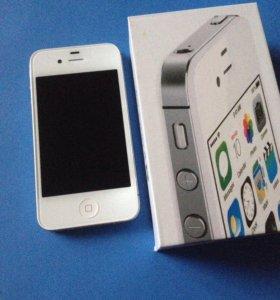 iPhone 4S 16 gb ,White .