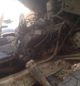 Двигатель с коробкой ПАЗ, газ-66, газ-3307
