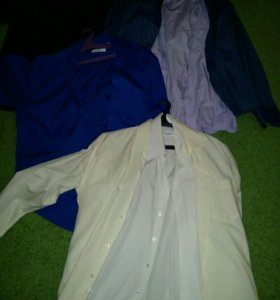 Рубашки мужские новые и б/у , от 300р