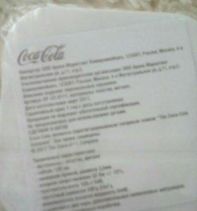 Наушники вакумные коллекционные Coca-Cola