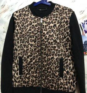 Леопардовый бомбер