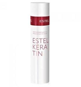 Кератиновый шампунь для волос Estel Keratin