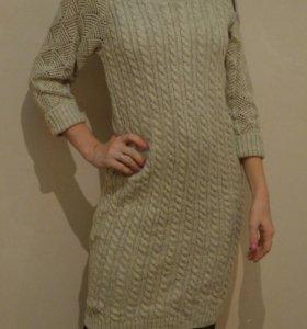 Платье вязаное новое р.S-М
