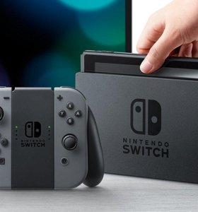 Nintendo Switch (в упаковке) + Игра