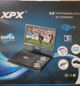Портативный телевизор c DVD