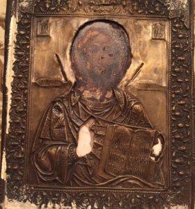Икона Спаситель 19 век.