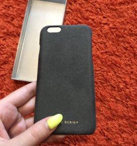 Замшевый чехол на iPhone 6 и 6s