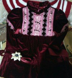 Красивое платье для маленькой принцессы