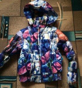 Куртка цветная тёплая 42 размер