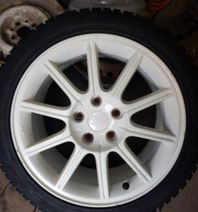 Диски r17 Subaru wrx