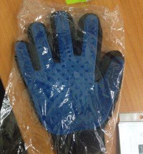 Перчатка для собирания шерсти