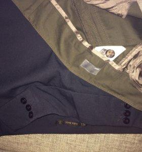 Две пары новых брюк Zara+Mexx