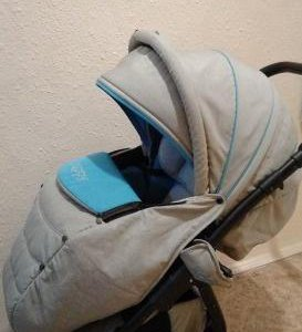 Коляска tutis zippy sport plus серо-голубая