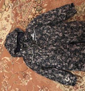 Куртка Крокид и брюки тёплые для девочки