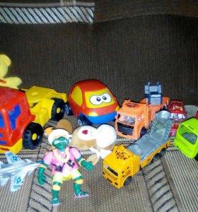 Пакет игрушек для мальчика