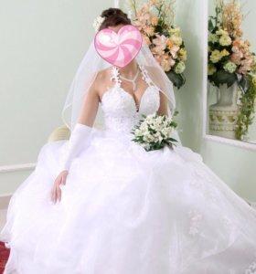 Свадебное платье 💃🏻Дёшево!!!!
