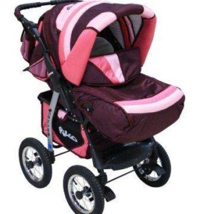 детская коляска трансформер для девочки!