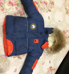 Куртка зимняя на 3-4 года