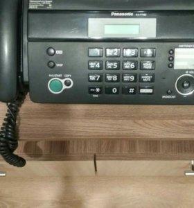 Телефон факс панасоник kx-ft982