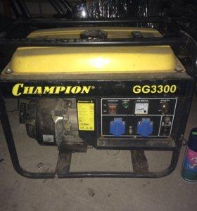 Бензогенератор , генератор бензиновый campion 3300