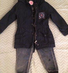 Ветровка и джинсы(86-92)