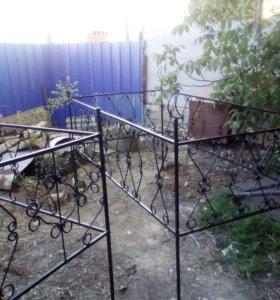 изготовление оград, сварочные работы