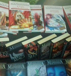коллекция книг А. Марининой